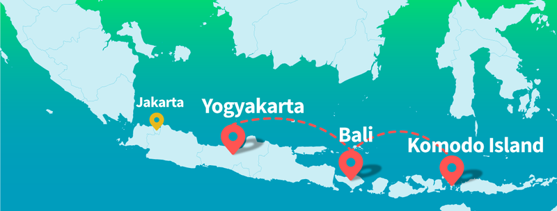 Follow the Skyscanner Indonesia adventure