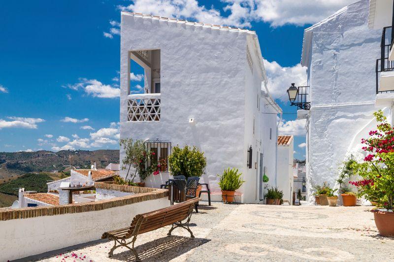 Frigiliana,un pueblo blanco andaluz de Málaga