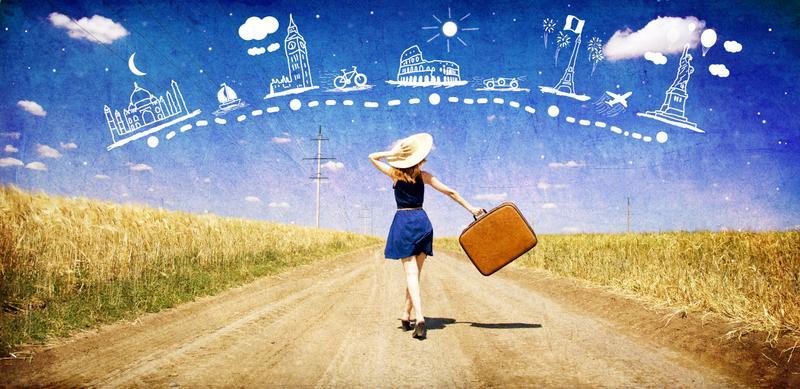Du lịch là dịp để các bạn trẻ thay đổi không khí