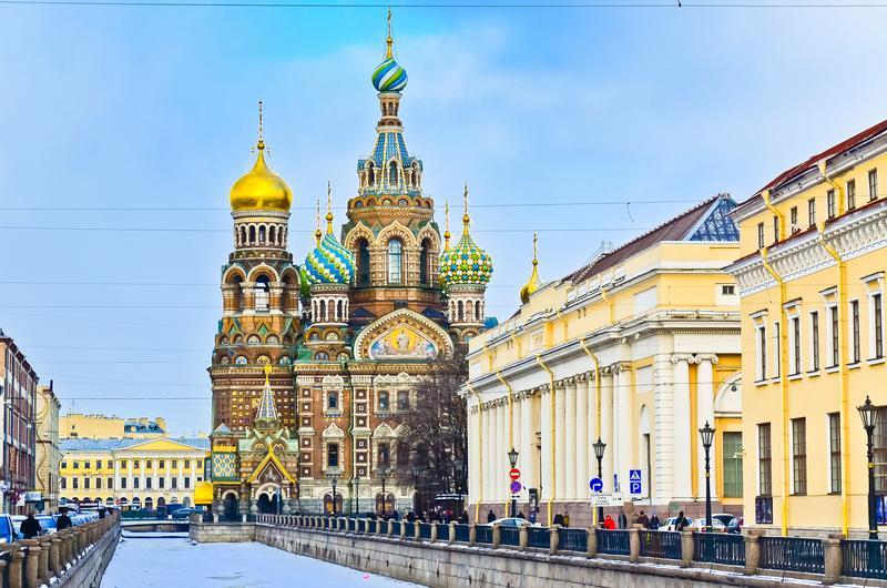 Thành phố Peterburg có kiến trúc cực kỳ độc đáo