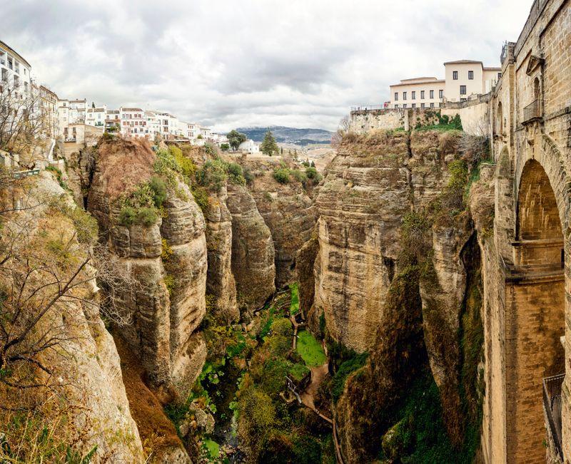 La imponente estampa de Ronda en Málaga