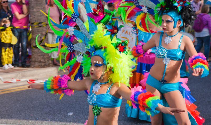 santa Cruz de Tenerife carnival canary islands spain