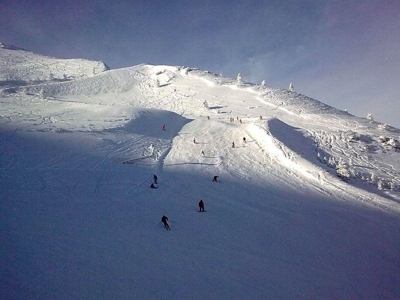 esquiadores en valdezcaray