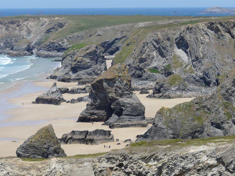 Bedruthan Steps, Carnewas Beach, Cornwall