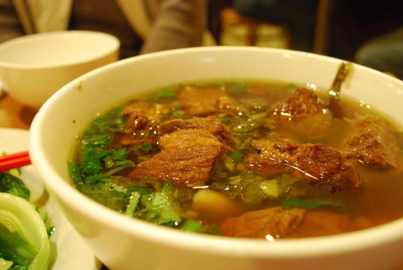 Mì bò nổi tiếng của Đài Loan