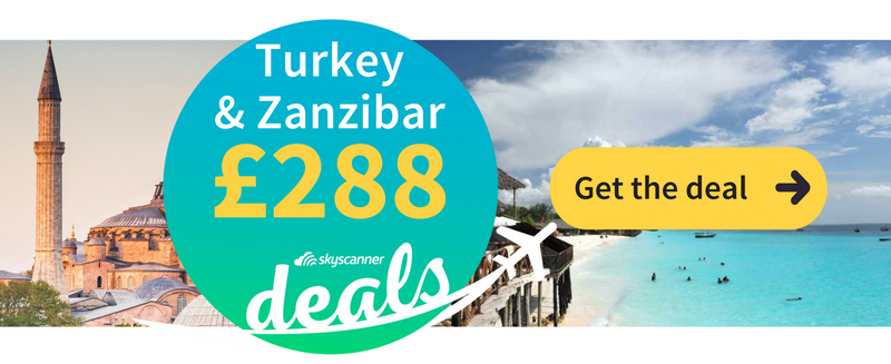 turkey zanzibar flight deals