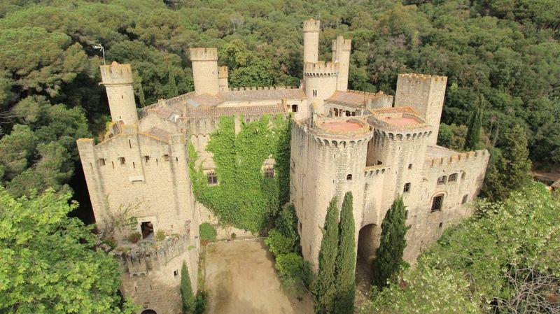 Santa Florentina Castle, near Barcelona