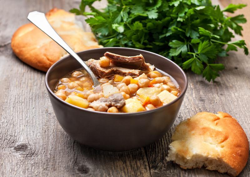 Балканский суп из рубца чорба