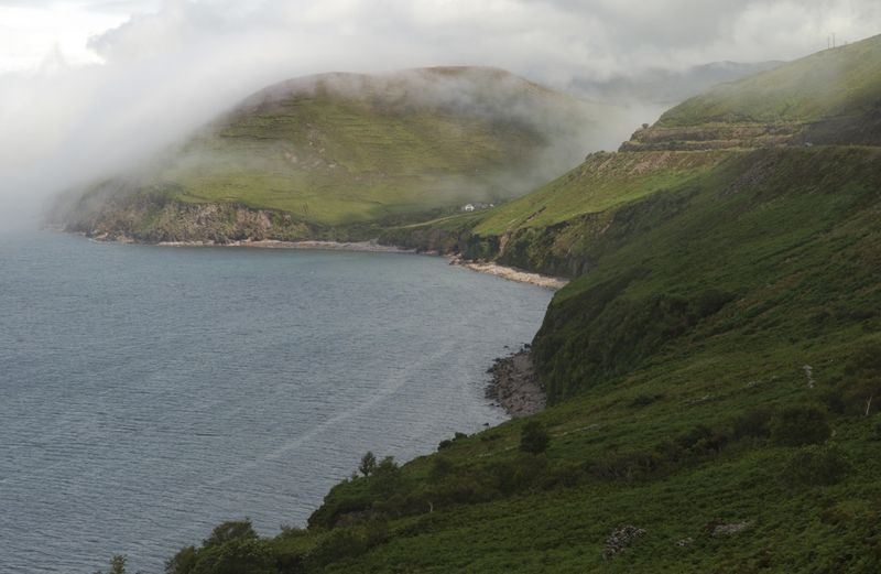 The Kerry coastline, Ireland