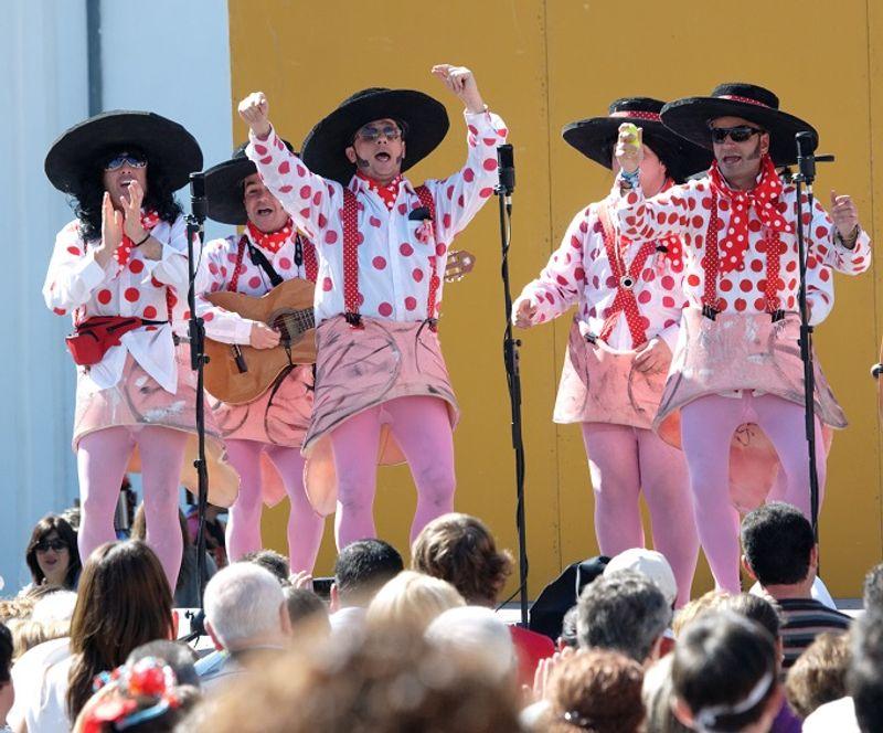 Chirigota carnaval de Cadis © Algefoto / Shutterstock.com