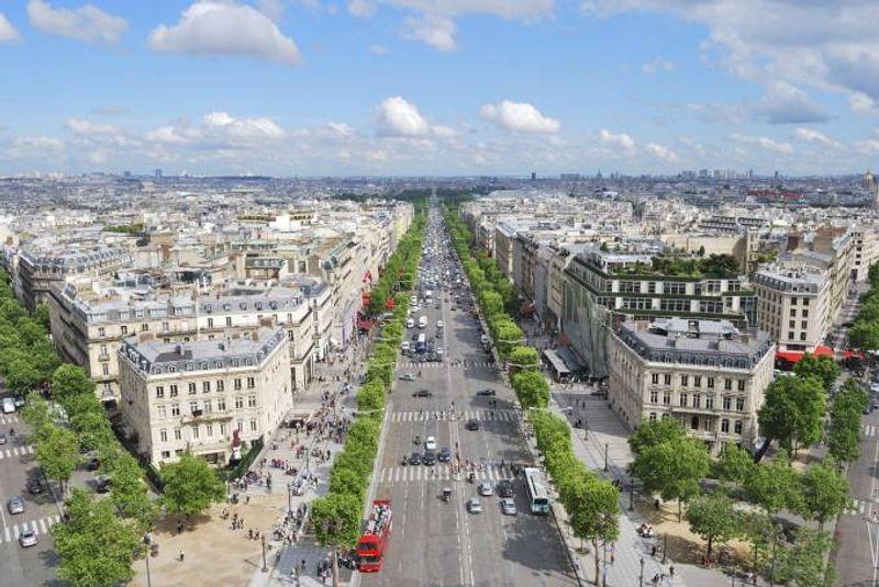 Champs Élysées, Paris, Frankreich