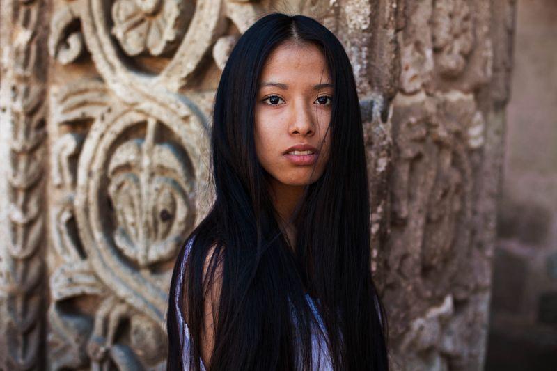 """Жительница Перу из фотопроекта Михаэлы Норок """"Атлас красоты"""""""