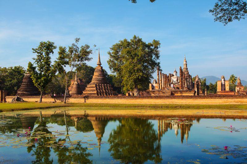 Исторический город Сукхотаи, Таиланд