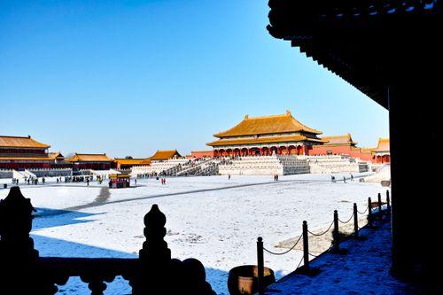 中国行きの航空券