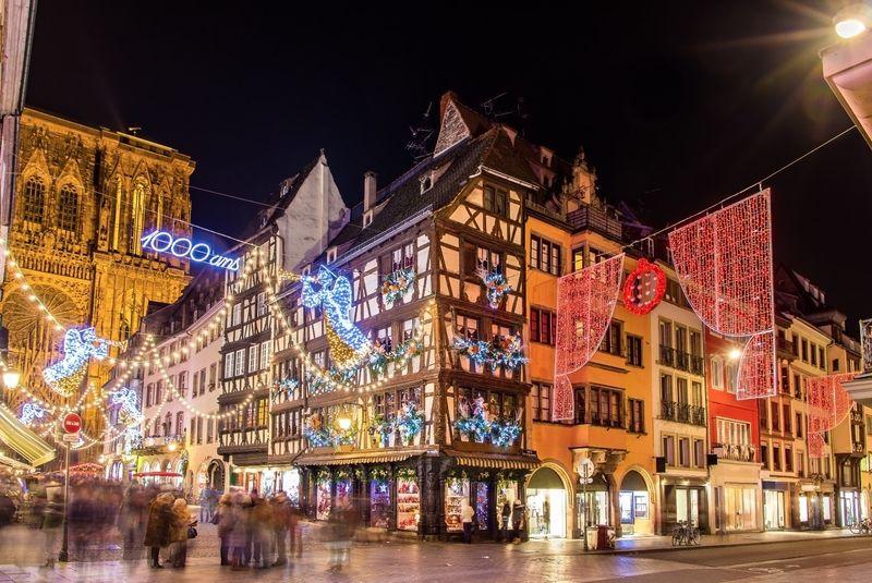 Francia Strasburgo mercatini