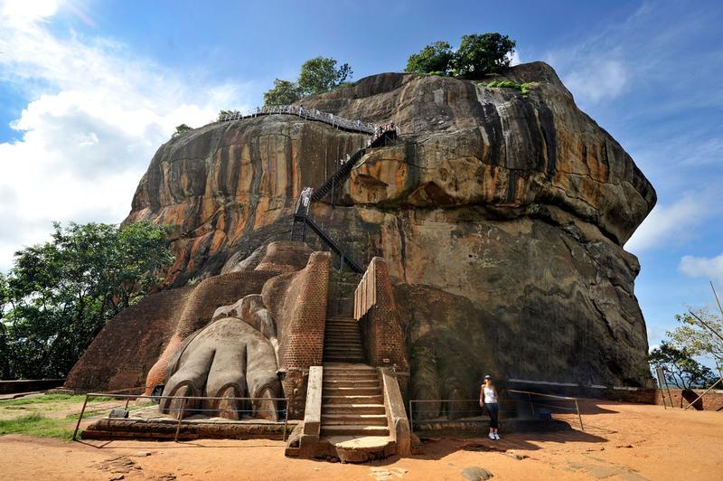 Львиная скала, Сигирия, Шри-Ланка