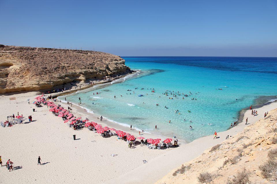 Пляж Агиба