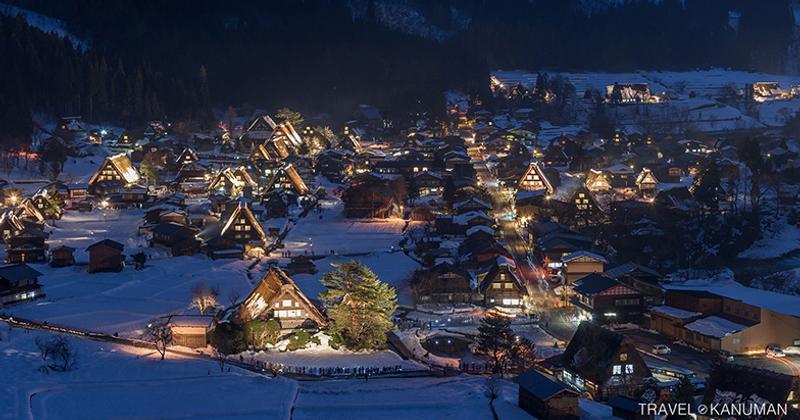 หมู่บ้านชิราคาวาโกะ (Shirakawa-go) ญี่ปุ่น