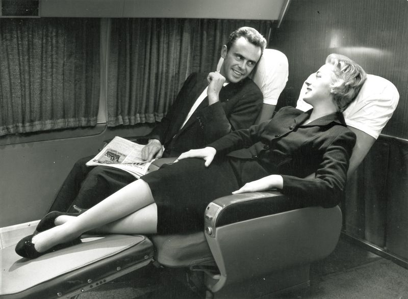 The Golden Age Of Plane Travel Flying In The 1950s