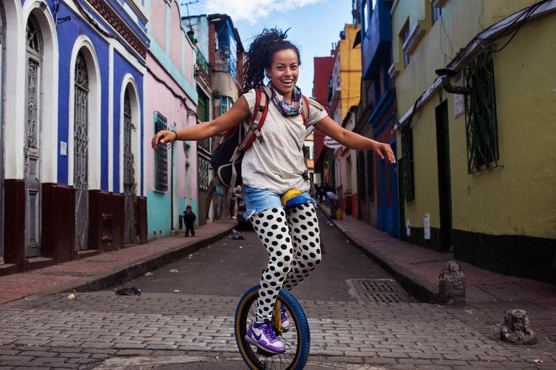 """Колумбийская девушка из фотопроекта Михаэлы Норок """"Атлас красоты"""""""