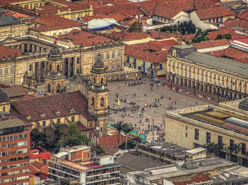 Plaza Bolivar, Bogotá