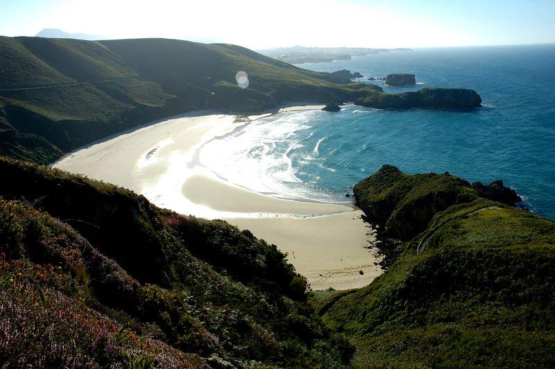 playa de Torimbia Asturias