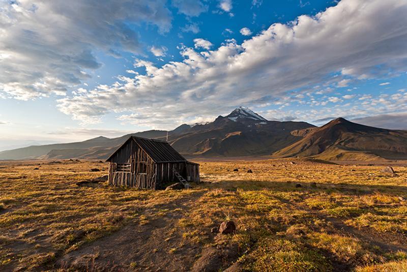 Пустой дом на Камчатке