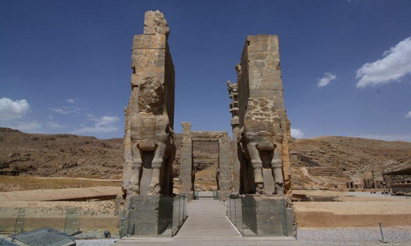 Ворота в Персеполисе, Иран