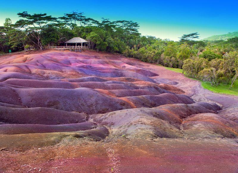 Siebenfarbige Erde, Chamarel