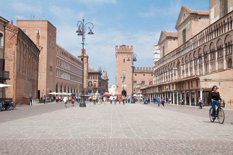 centro storico di Ferrara
