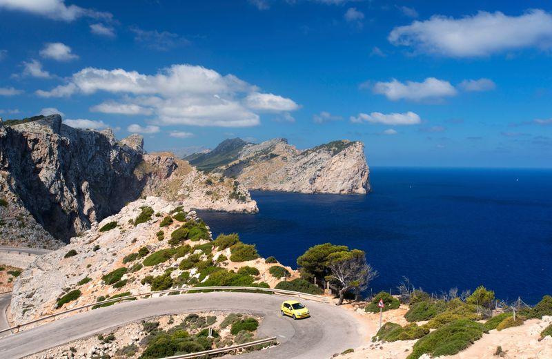 Las carreteras de Mallorca, Islas Baleares