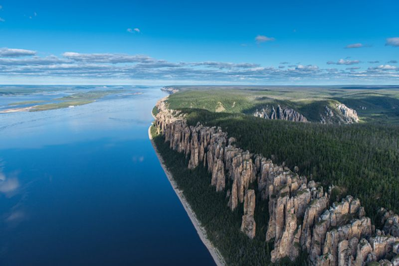 Ленские столбы в Якутии, Россия