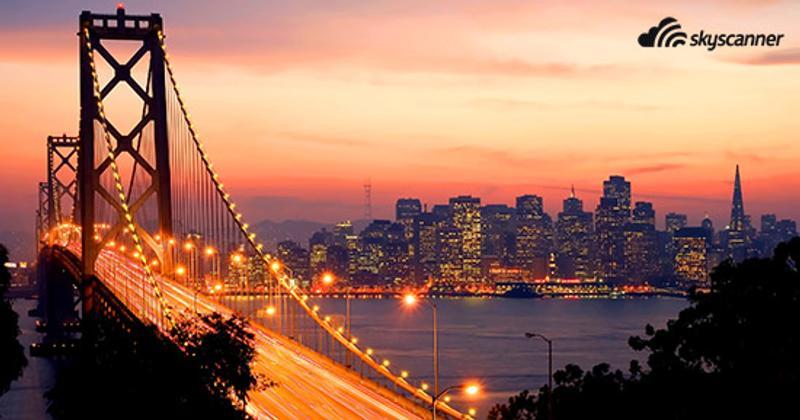 สะพานโกลเดนเกต (Golden Gate Bridge) ซานฟรานซิสโก (San Francisco) รัฐแคลิฟอร์เนีย (California)