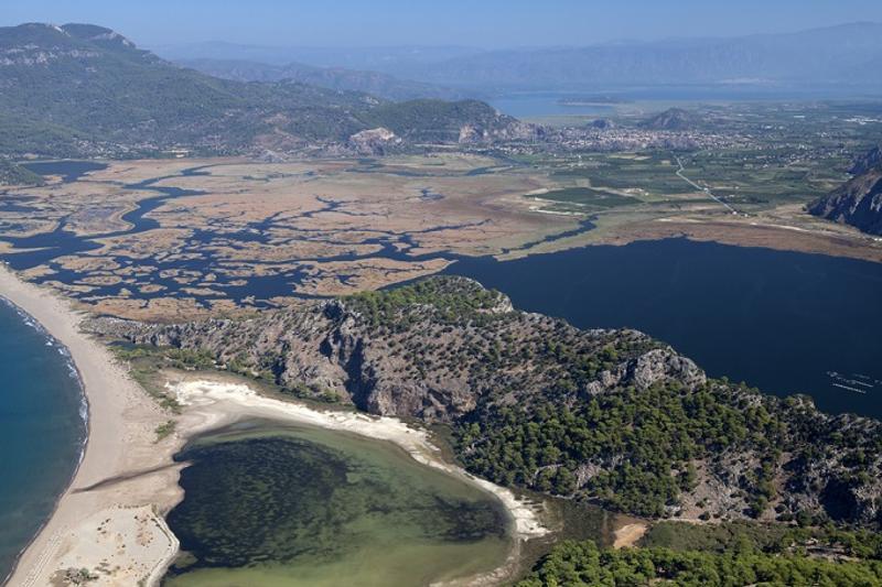 «Черепаший берег» Изтузу, Дальян, Турция