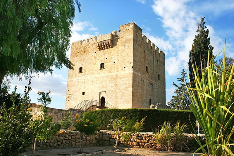 Замок Колосси в Лимасоле, Кипр