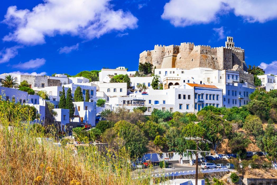 Η Χώρα και το κάστρο, ελληνικό νησί, Πάτμος