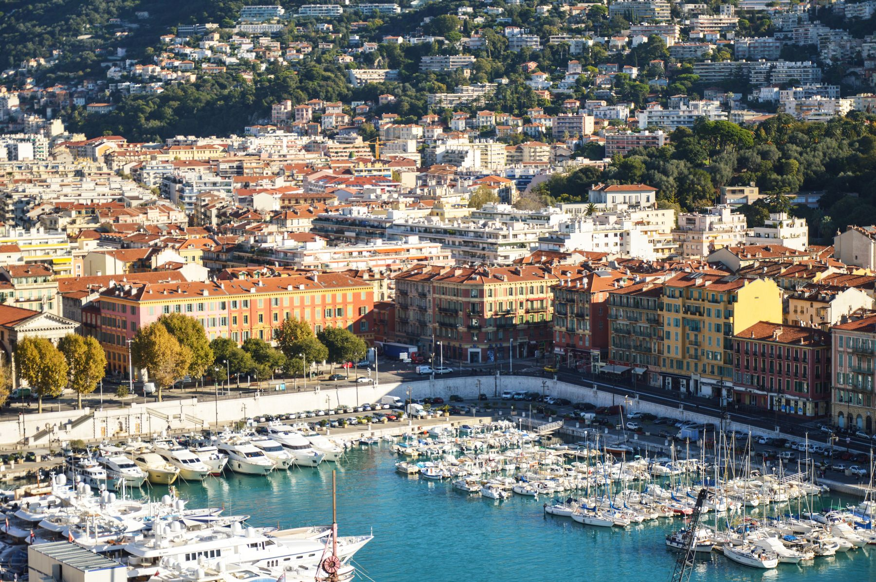 Nice is perfect for cheap beach holidays, despite its glitzy reputation