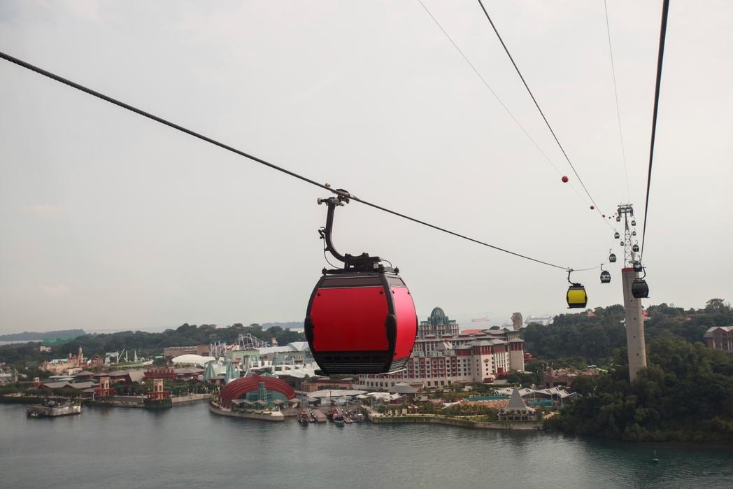 Το τελεφερίκ προσφέρει εκπληκτική θέα στα νότια της πόλης - πώς να περάσετε 72 ώρες στη Σιγκαπούρη