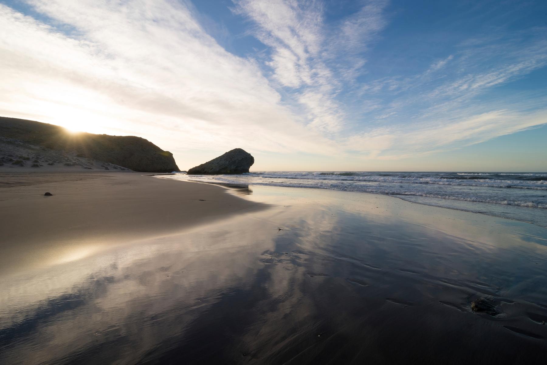 playa de Mónsul mejores playas Cabo de Gata