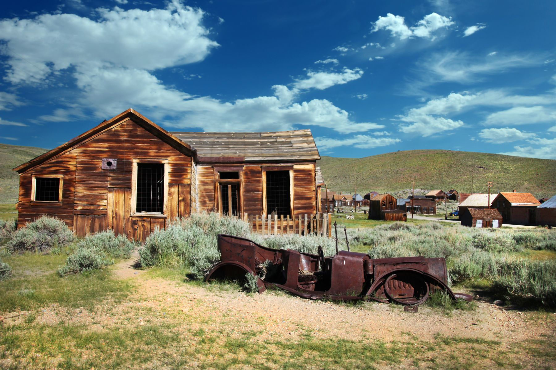 Bodie, California: a ghost town