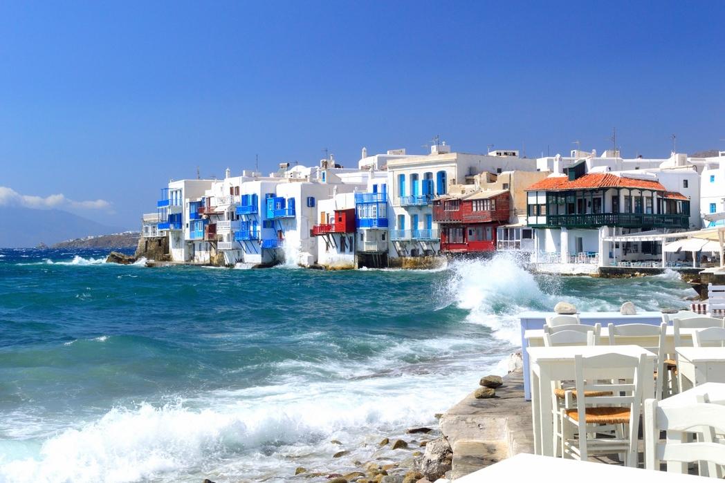 Spiagge più belle di Myknos