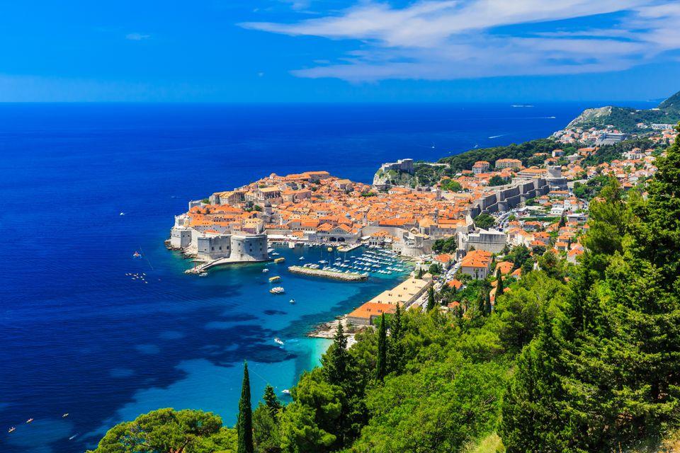 Dubrovnik, a top destination for summer sun in the Med
