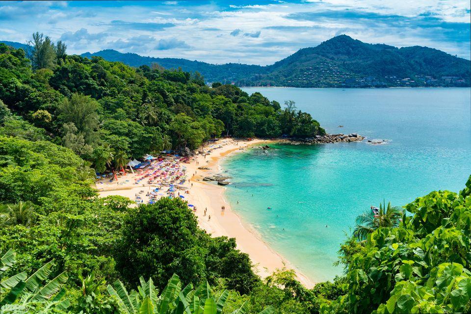 Райский пляж в Таиланде