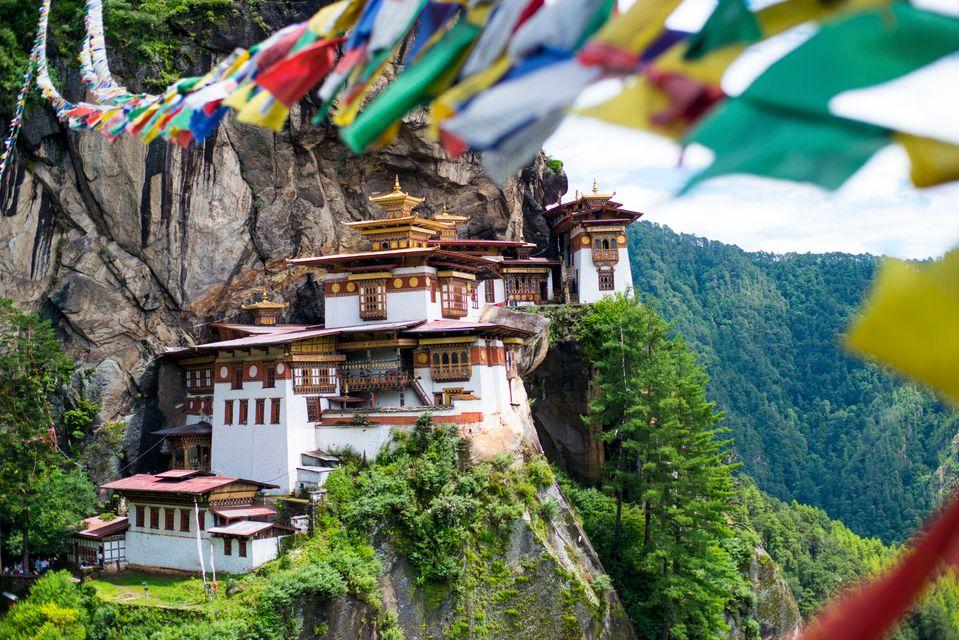 Sehenswürdigkeiten Bhutan: Tigernest-Kloster Taktshang, Paro