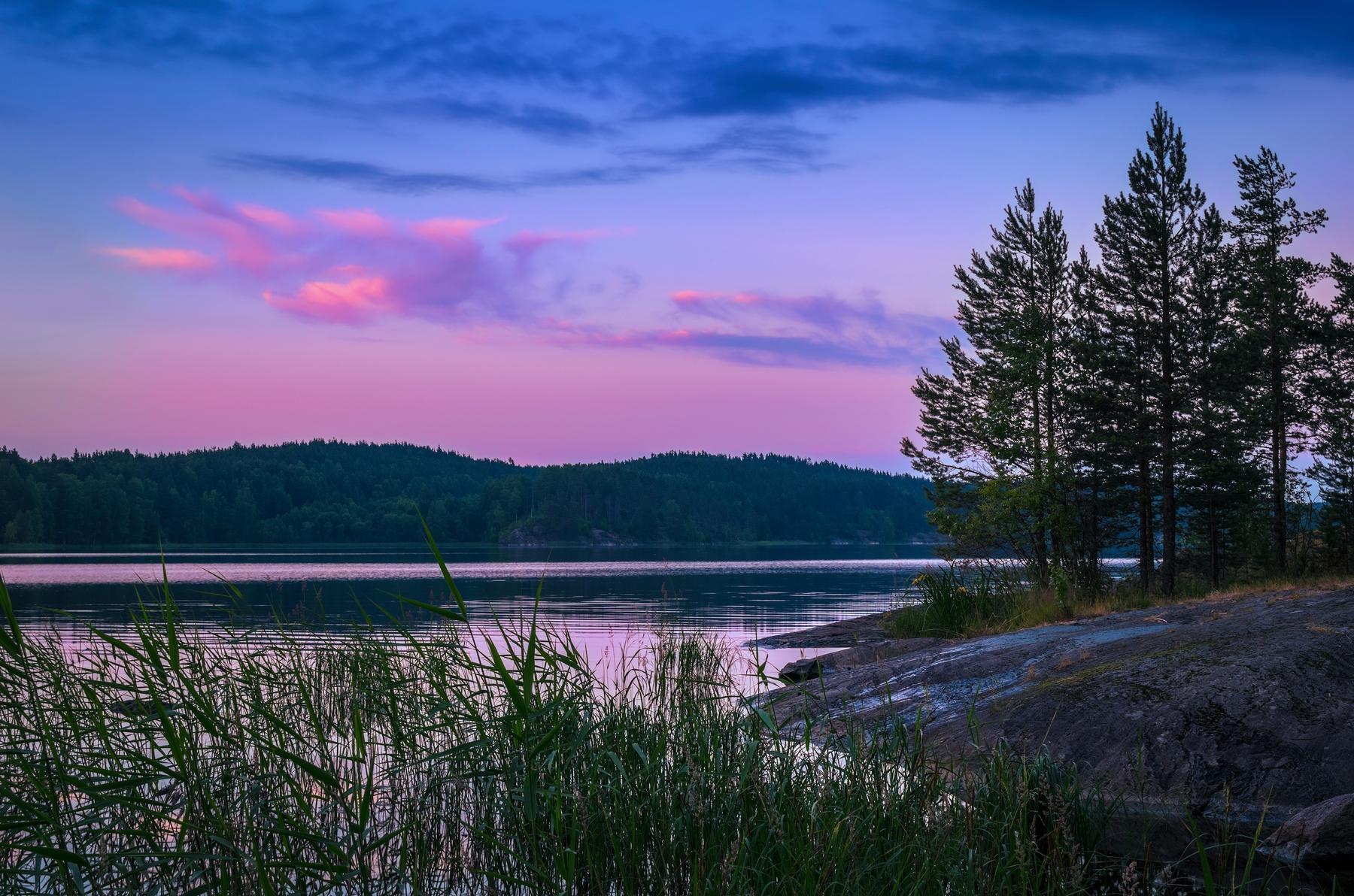 Лучший отдых в палатке в России — на озере Ладога