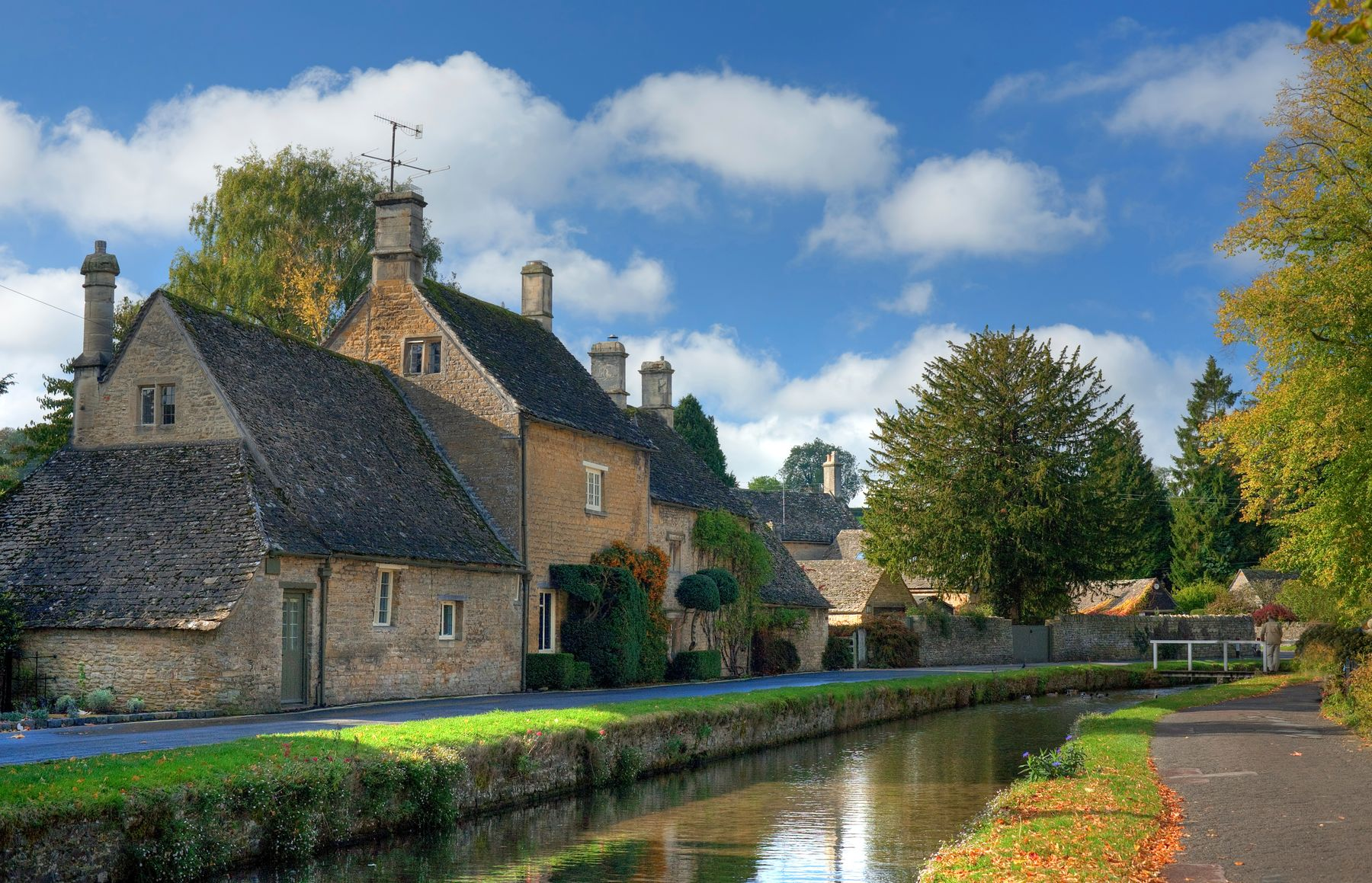 Lower Slaughter has been voted one of the most romantic villages in England