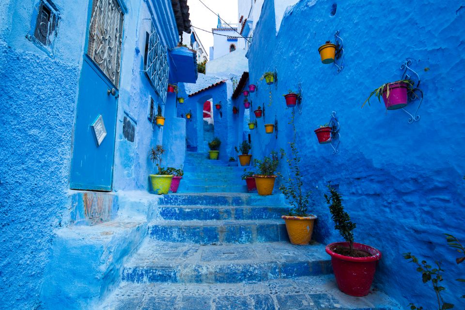 Город Шефшауен, Марокко