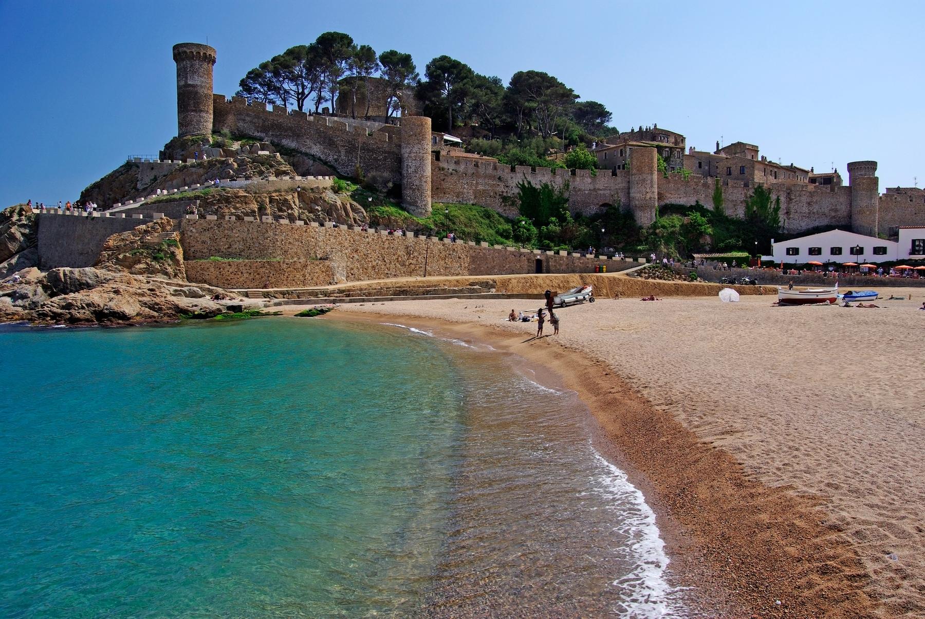Los 20 rincones más bonitos de Cataluña: Tossa de Mar