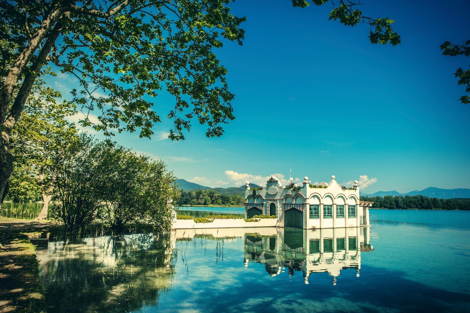 Los 20 rincones más bonitos de Cataluña: Lago de Banyoles