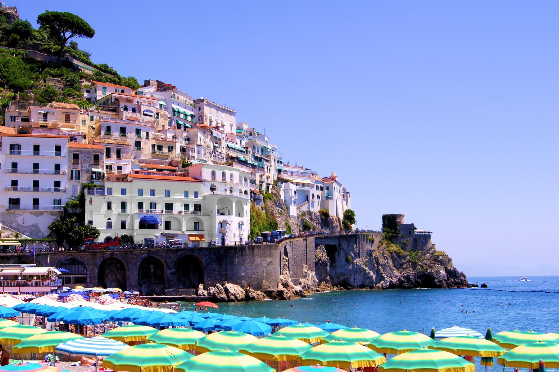 Città sul mare in Italia - Amalfi